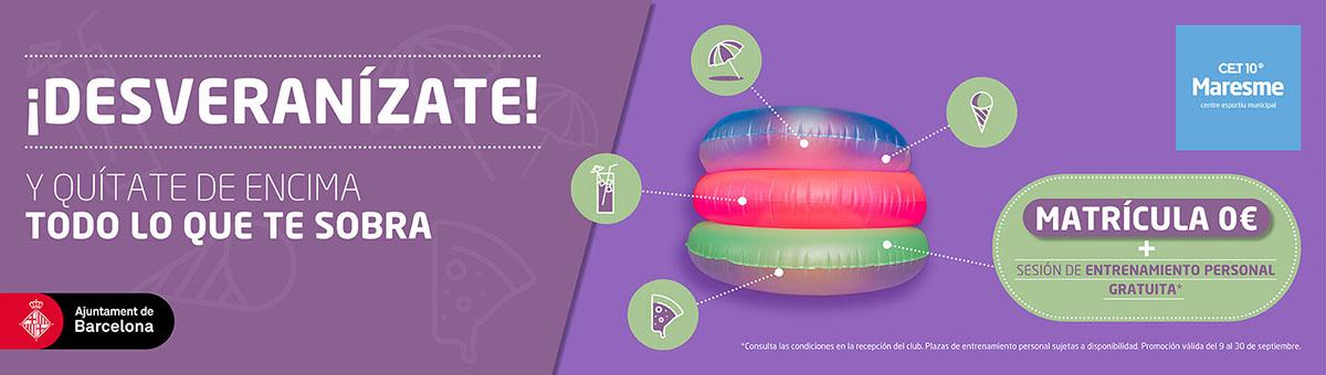 Slider - Campaña Septiembre - Desveranízate - CAST